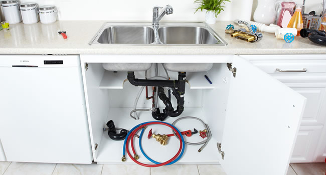 Kitchen Plumbing Services in Toledo, Michigan.